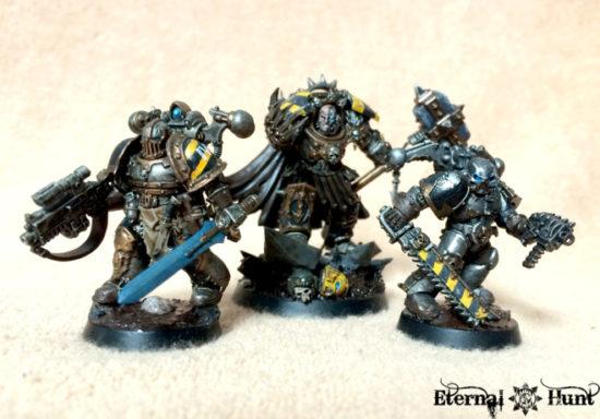 Iron Warriors Kill Team by krautscientist