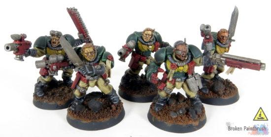 Mentor Legion Scout Squad WIP Combat Squad