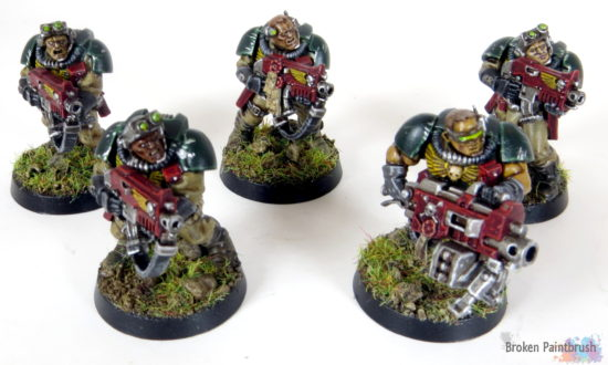 Mentor Legion Scout Squad for Combat