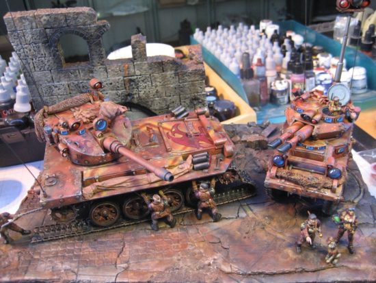 Scratch Built Tanks by Klaus Fischer