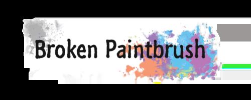 Broken Paintbrush