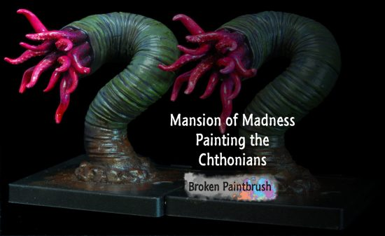 Painting Guide for the Chthonians from Mansions of Madness