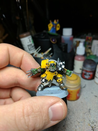 How to Paint Yellow Armor