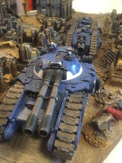 Horus Heresy Ultramarine Tanks