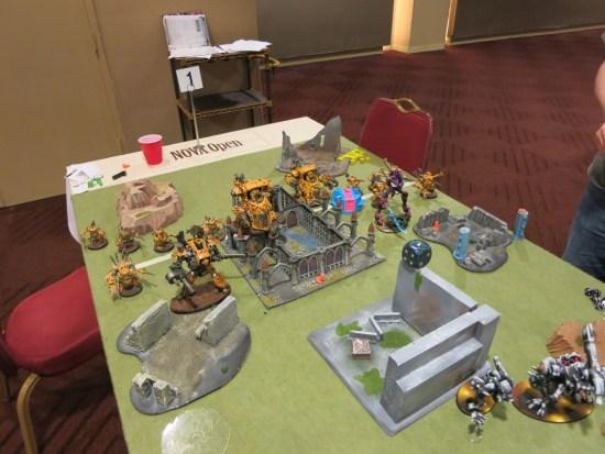 Dread Mob battle vs Tau