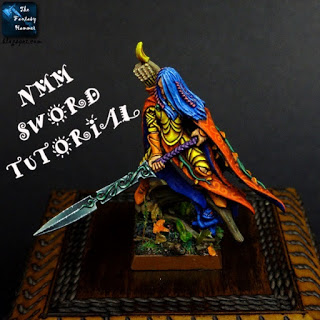 How to paint NMM sword