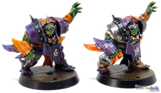 Line man for Orc Blood Bowl Team