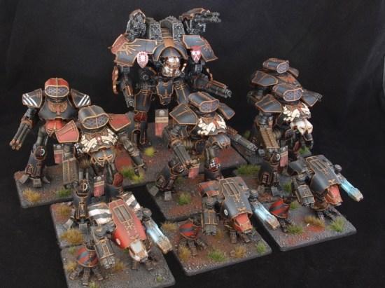Legio Mortis Titan Maniple for Epic