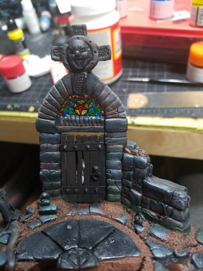 Making a Stained Glass Window for Miniature Wargamming