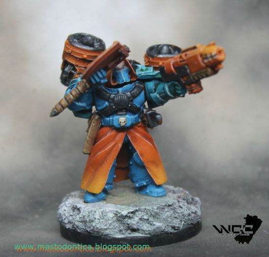Librarian with Jump Pack