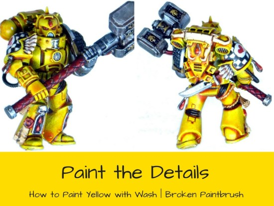 Painting the Lamenters Space Marine Details