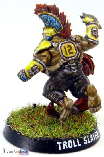 Dwarf Troll Slayer Blood Bowl Player