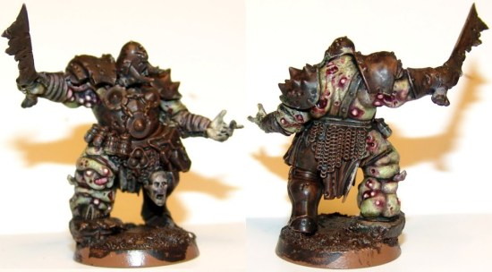 How to Paint Nurgle Skin