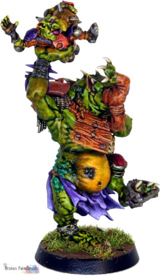 Blood Bowl Troll Front Side