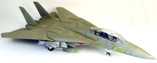 F15 Tomcat painted with my dad