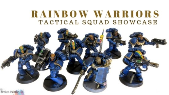 Rainbow Warriors Tactical Squad Showcase