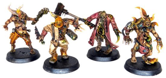 Adding Color to the Pox Walkers through Washes