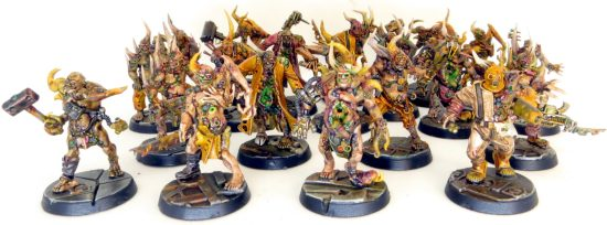 Painted Pox Walkers with Washes