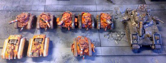 Traitor Guard 2k Tank List