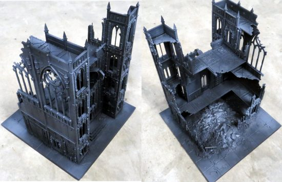 Games Workshop Shrine of Aquila Building 2 WIP