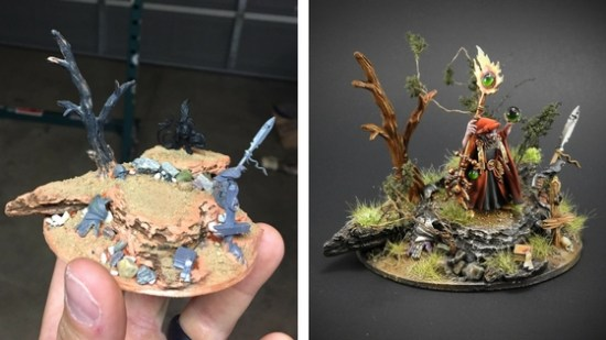 Creating a Scenic Base for the Wizard