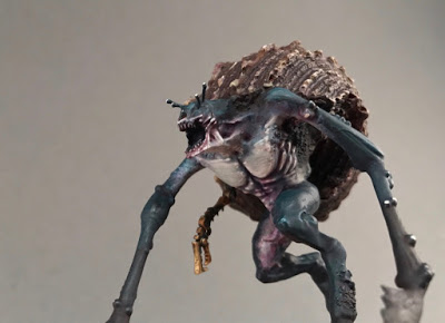 Mutant converted with snail shell