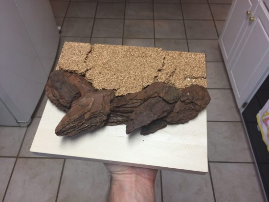 Creating Scenic Terrain by adding Cork
