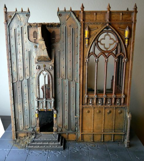 WIP Gothic Ruins Building on TableScape Tile