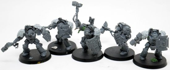 Mentor Legion Assault Terminators with Thunder Hammers