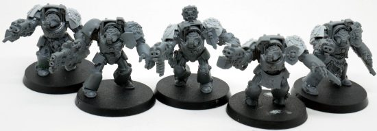 Mentor Legion Terminators with Heavy Flamer