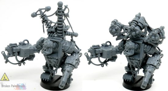 Magnetizing the Big Mek Weapon Options