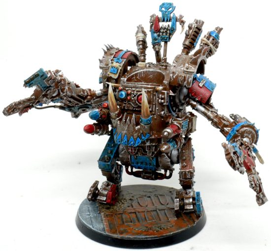 Death Skulls Deff Dread From the Upper Right
