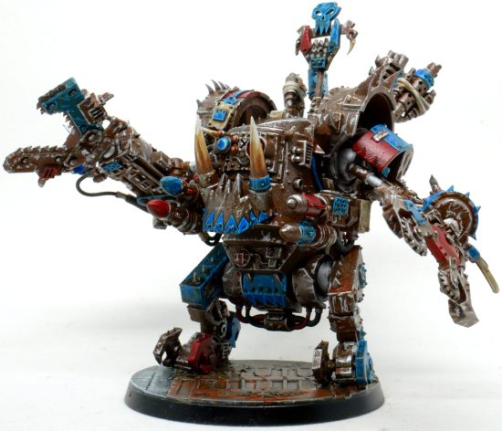 Death Skulls Deff Dread From the Front Right