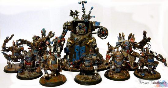 Death Skulls Dread Mob Forming