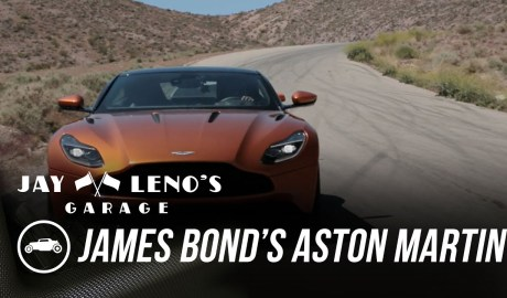 EXCLUSIVE: James Bond's Aston Martin DB11 - Jay Leno's Garage