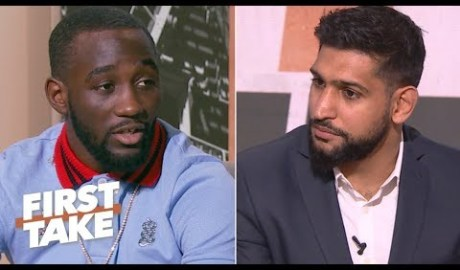 Terence Crawford: Beating Amir Khan would make me the best pound-for-pound boxer