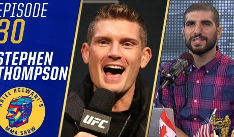 Stephen Thompson 'surprised' to get called out by Anthony Pettis