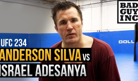 Anderson Silva likes the stylistic matchup with Israel Adesanya...