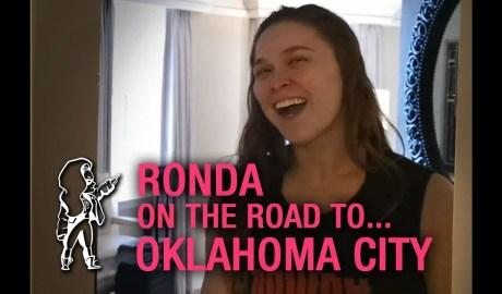 Ronda on the Road...to RAW Oklahoma City