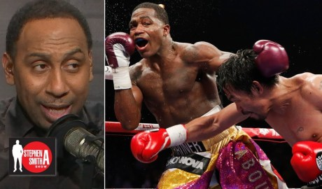 Stephen A. calls out Adrien Broner for saying he beat Manny Pacquiao