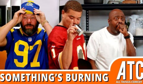 Donnell Rawlings & Red Grant Make SUPER BOWL Snacks | Something's Burning w/ Bert Kreischer