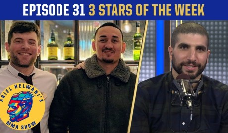 Max Holloway pokes Conor McGregor in Dublin | 3 Stars of the Week | Ariel Helwani's MMA Show