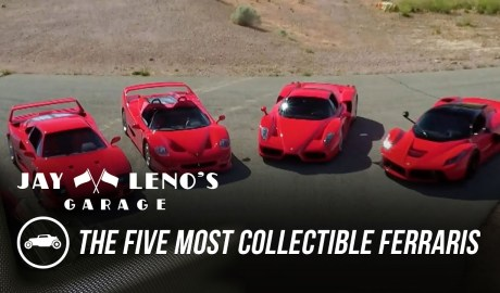 The Five Most Collectible Ferraris On One Track - Jay Leno's Garage