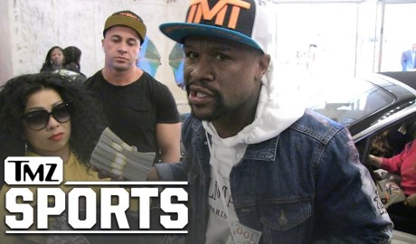 Floyd Mayweather Gunning to Sign Zion Williamson to The Money Team | TMZ Sports