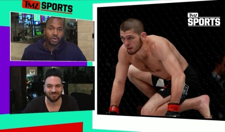Khabib Nurmagomedov VS Second Bear | TMZ Sports