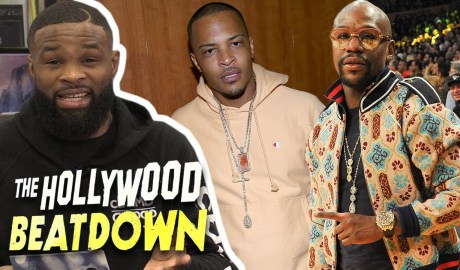 Tyron Woodley Says T.I.'s Floyd Diss Track Is Weak | The Hollywood Beatdown