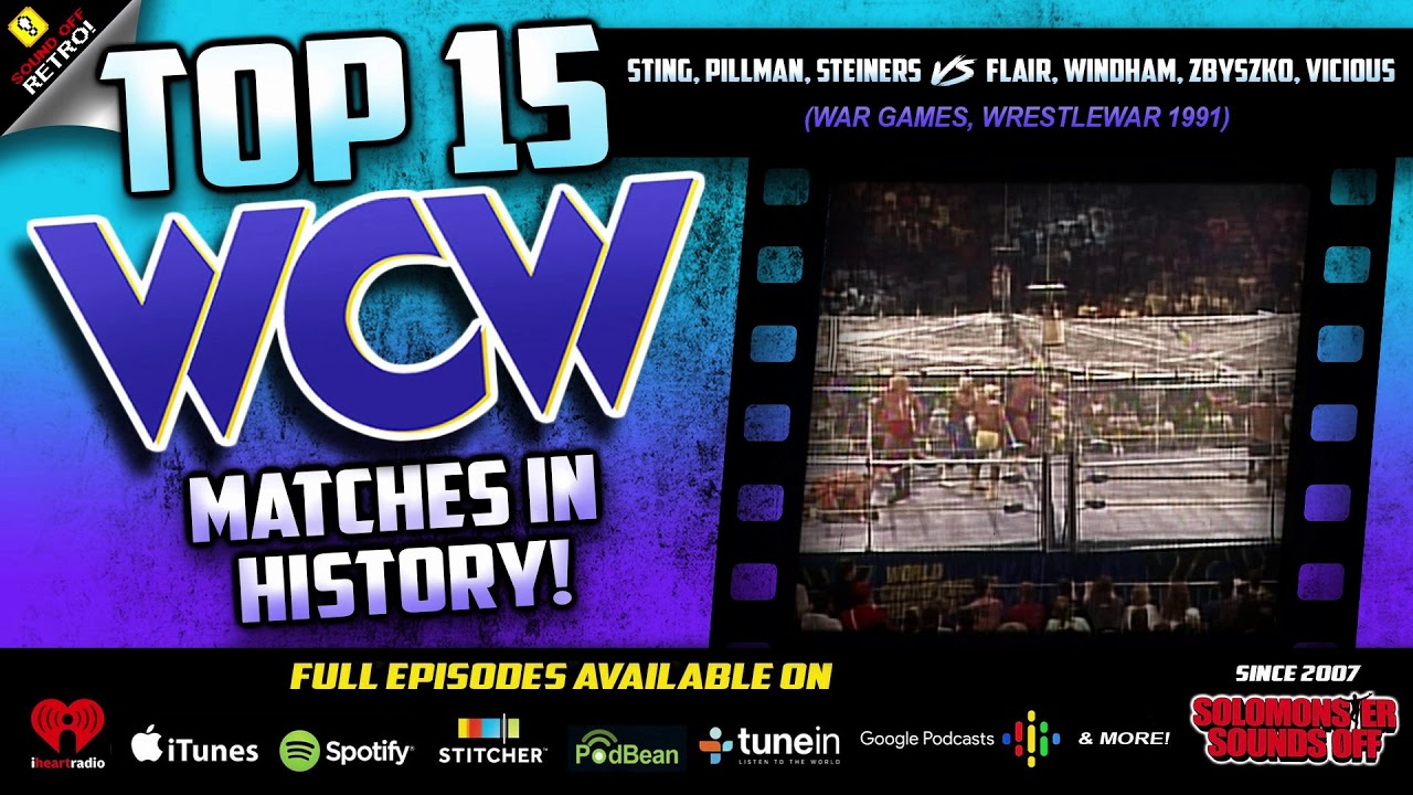 Top 15 WCW Matches | Sid Destroys Pillman In War Games (WrestleWar 91)