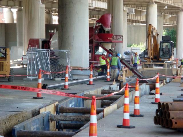 Museum Plaza Construction Resumes