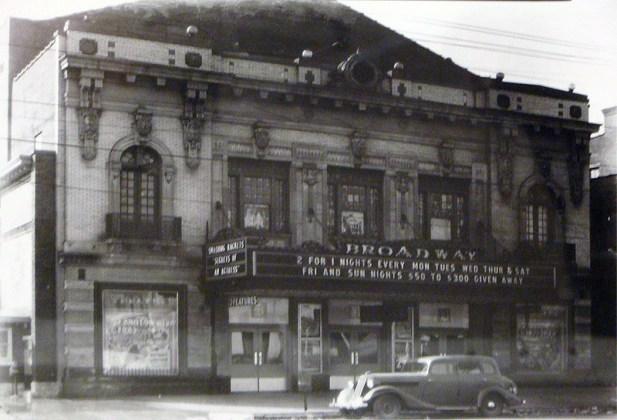 The Broadway Theater Historic Photo (Courtesy ORI)