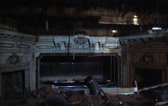 Inside The Broadway Theater (Broken Sidewalk)